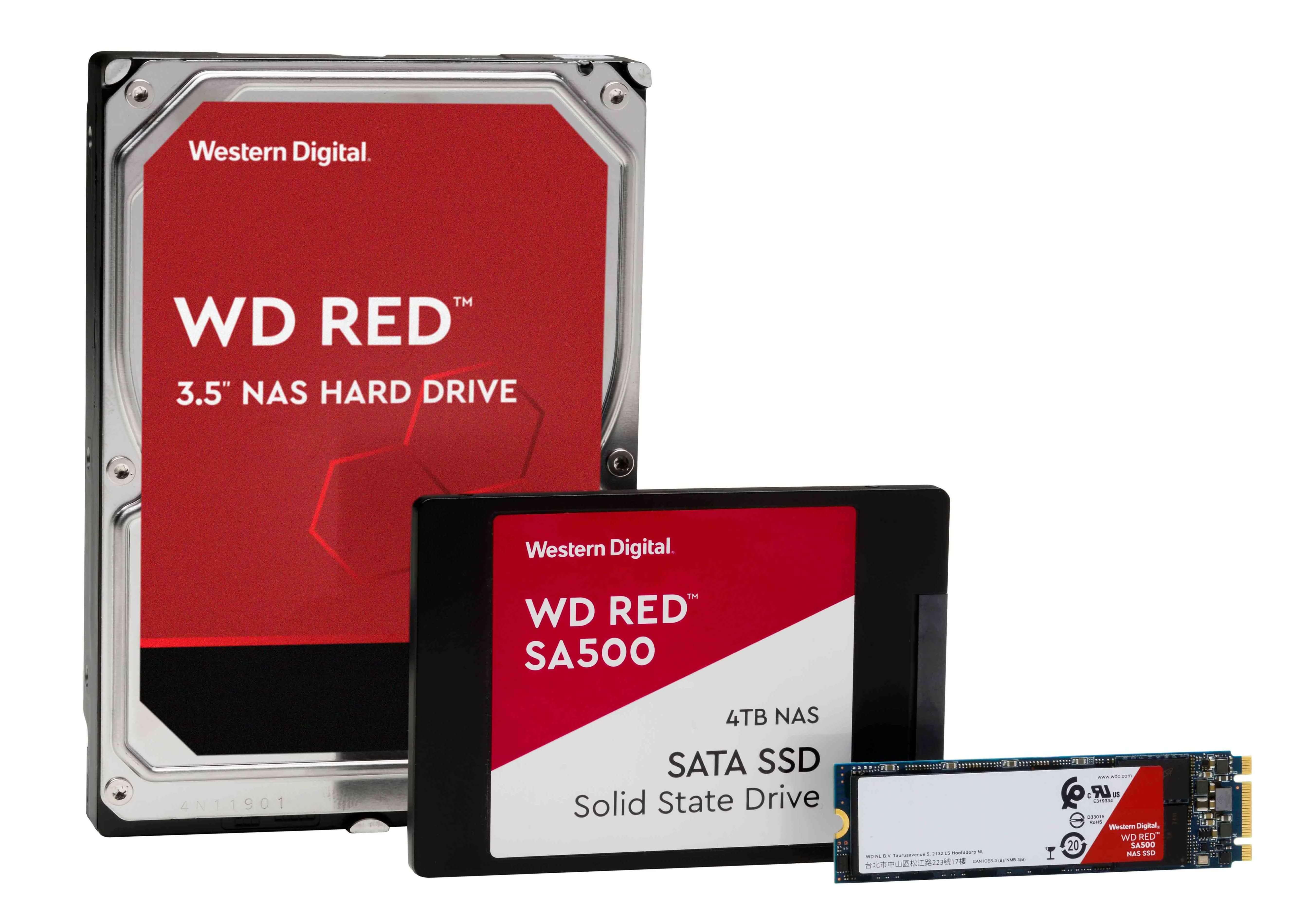 WD Red portfolio