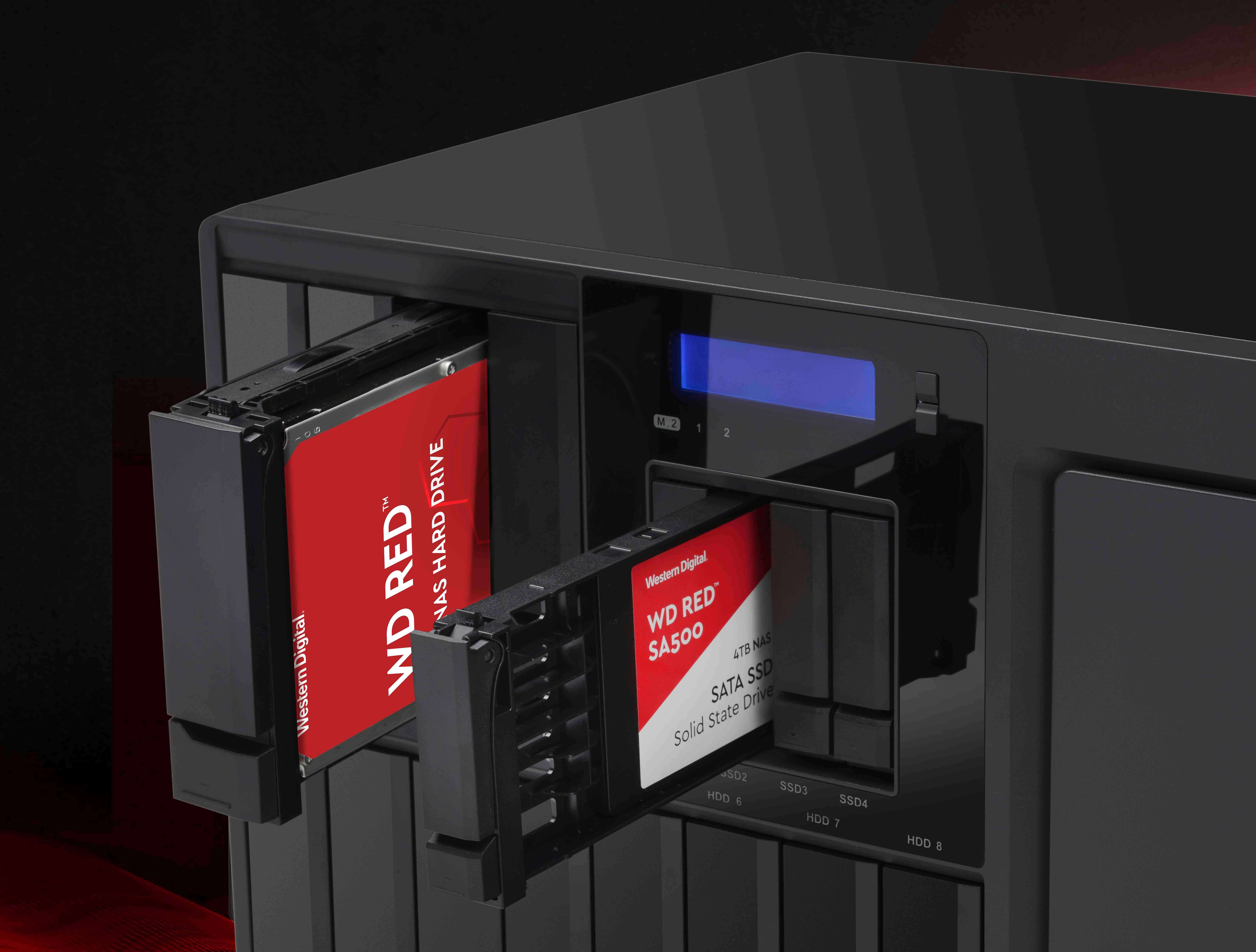 WD Red HDD SSD NAS