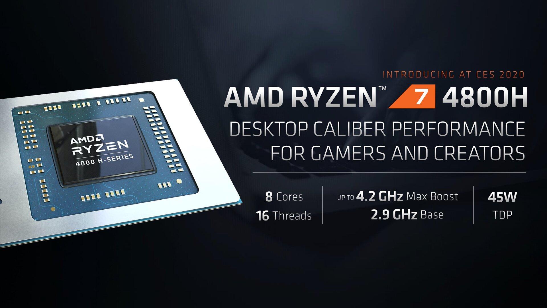 AMD Ryzen 4000 Mobile 10