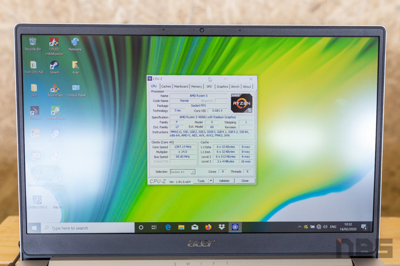 Acer Swift 3 Ryzen 4000 Preview 16