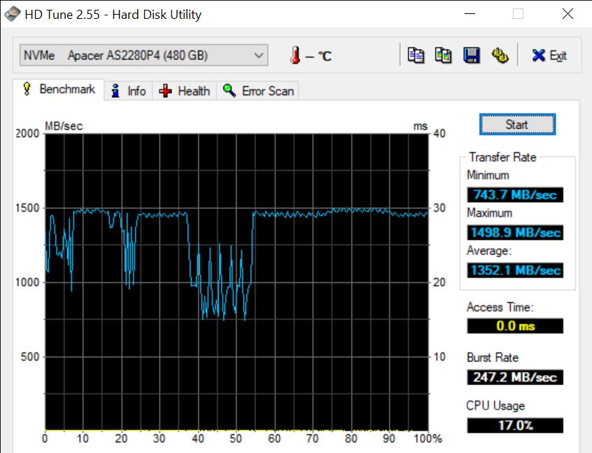 HD Tune 2.55 Hard Disk Utility 2 11 2020 11 31 43 AM