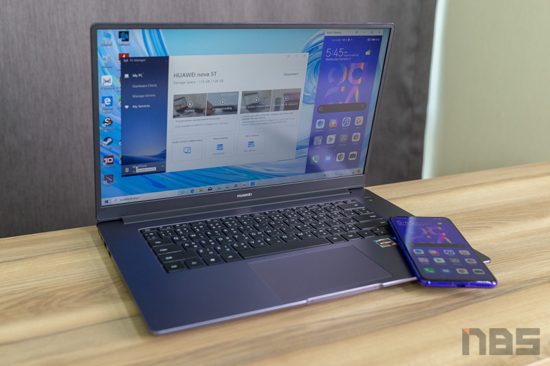 Huawei MateBook D15 Ryzen 5 NBS Review 61