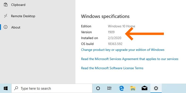 ลง Windows 10