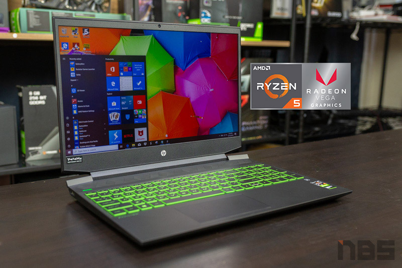 HP Pavilion Gaming 15 AMD Review 6