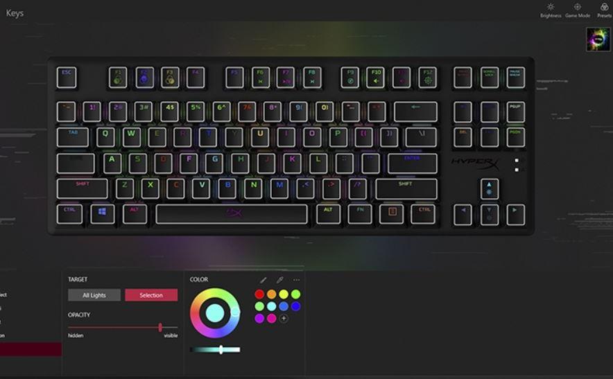 HyperX Alloy Origins Core rgb