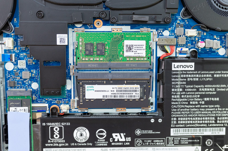 Lenovo Y540 Up RAM Review 8