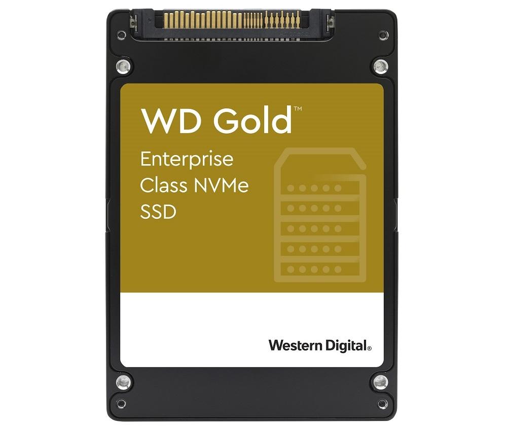 en us WD Gold NVMe SSD Front