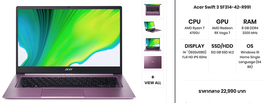 Acer Swift 3 SF314 42 R991 copy