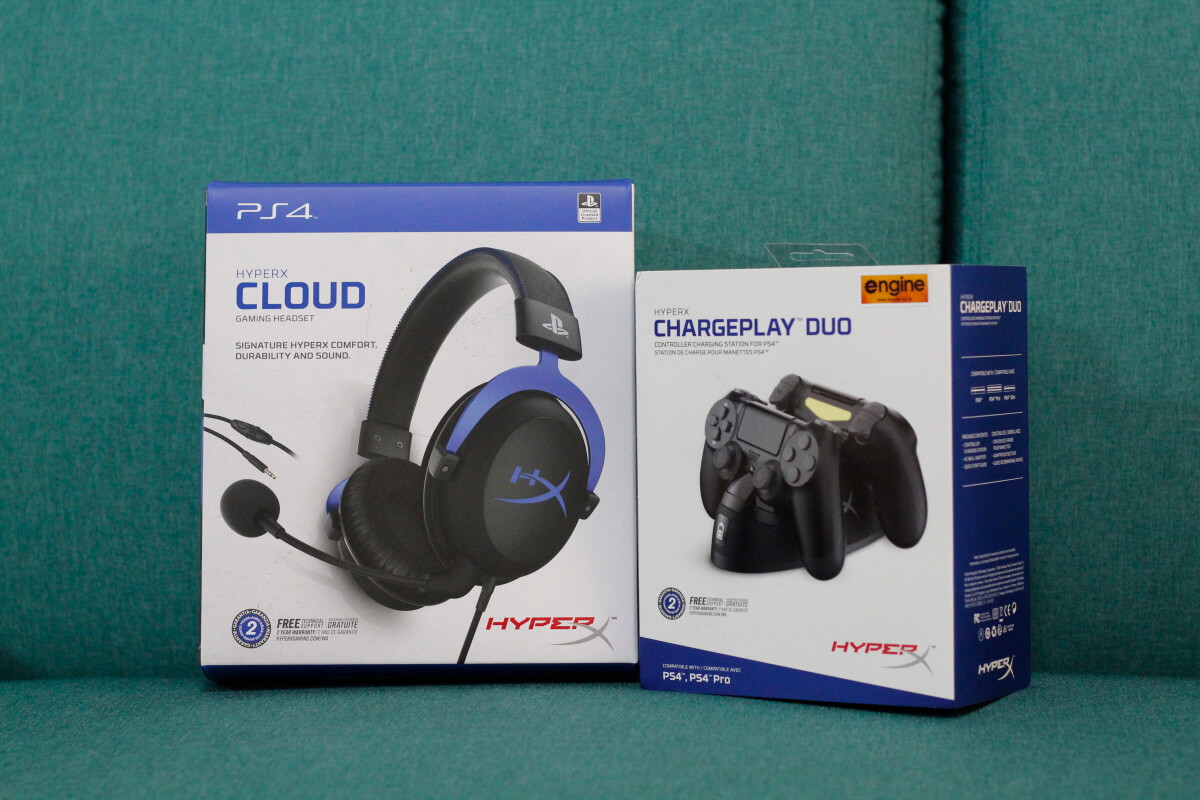 HyperX Cloud ChargePlay 4