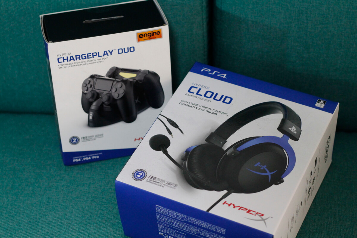 HyperX Cloud ChargePlay 5