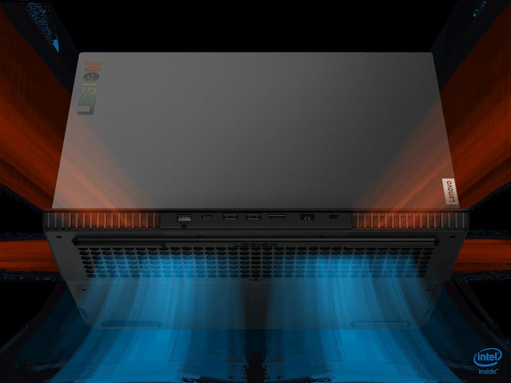Lenovo Legion 5i Thermal Layout