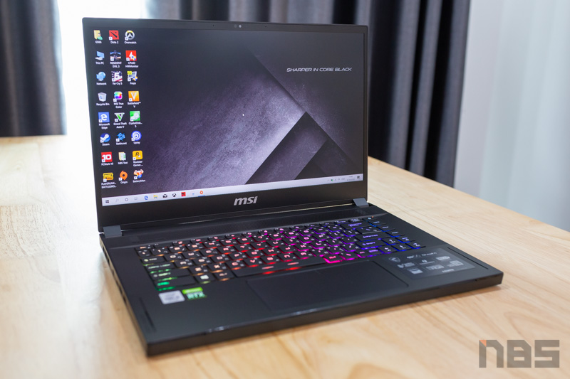 MSI GS66 Stealth i9 RTX2080s Review 2