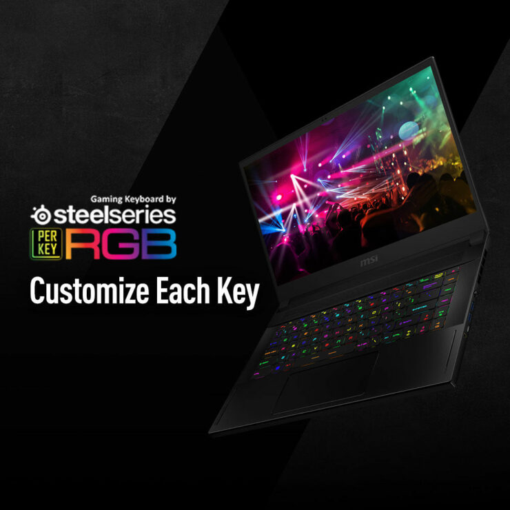 MSI Stealth GS66 Gaming Notebooks Intel 10th Gen Core i9 10980HK Comet Lake H CPU NVIDIA GeForce RTX 2080 SUPER Mobility GPU 5