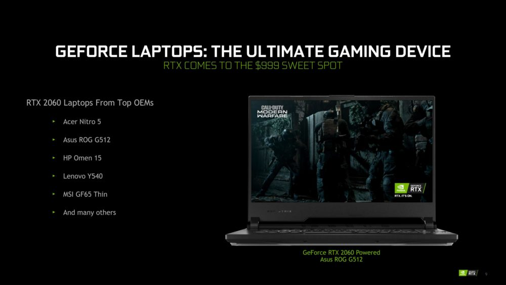 NVIDIA GeForce RTX SUPER Mobile April 2020 4