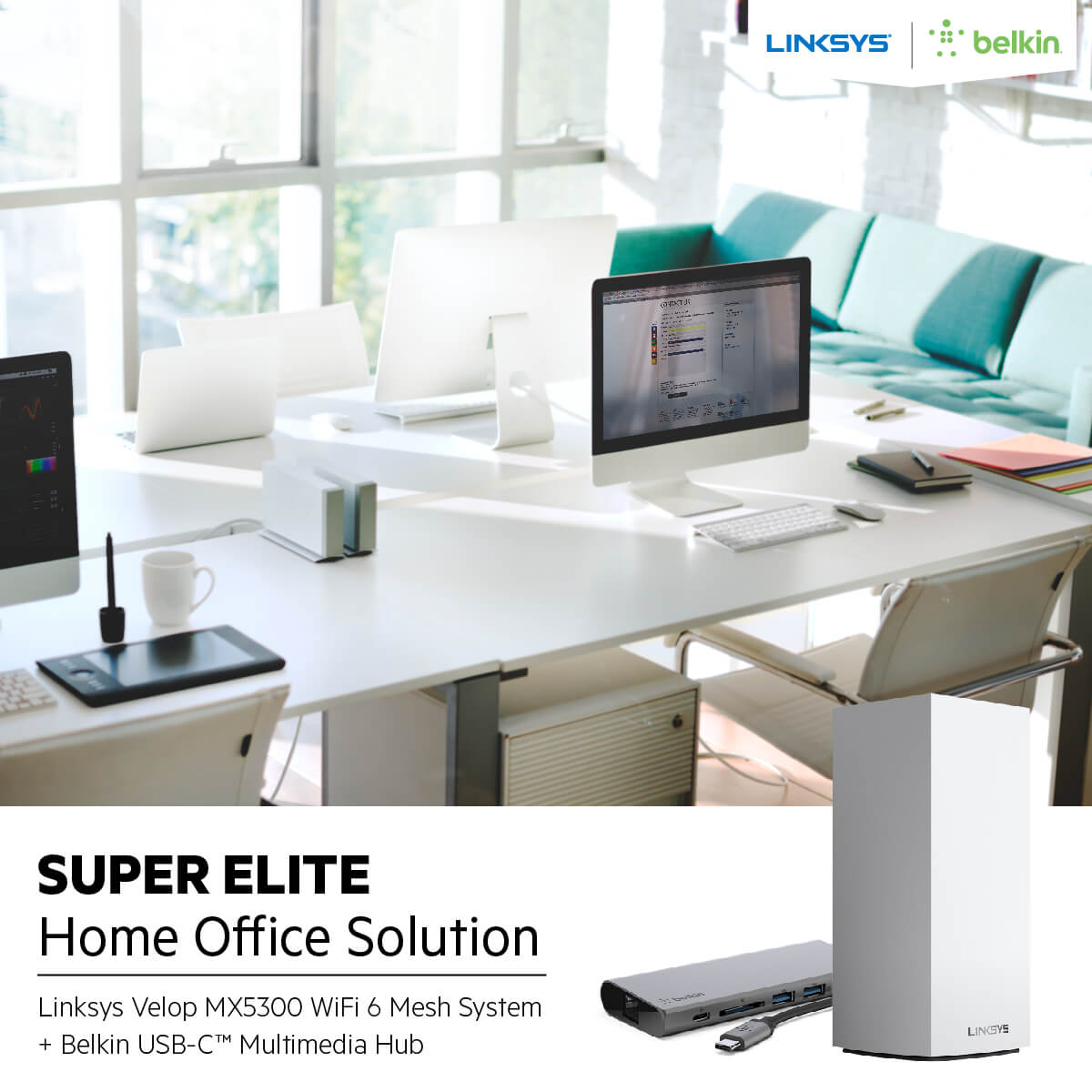 Press release Linksys Unveils Three Customized 'Home Office Solution 2 01