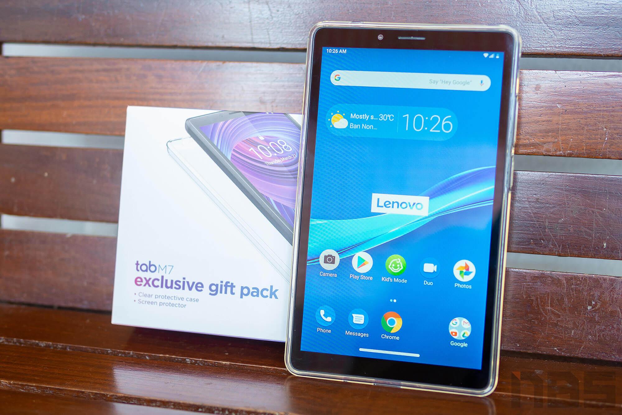 Review Lenovo Tab M7 NotebookSPEC 25