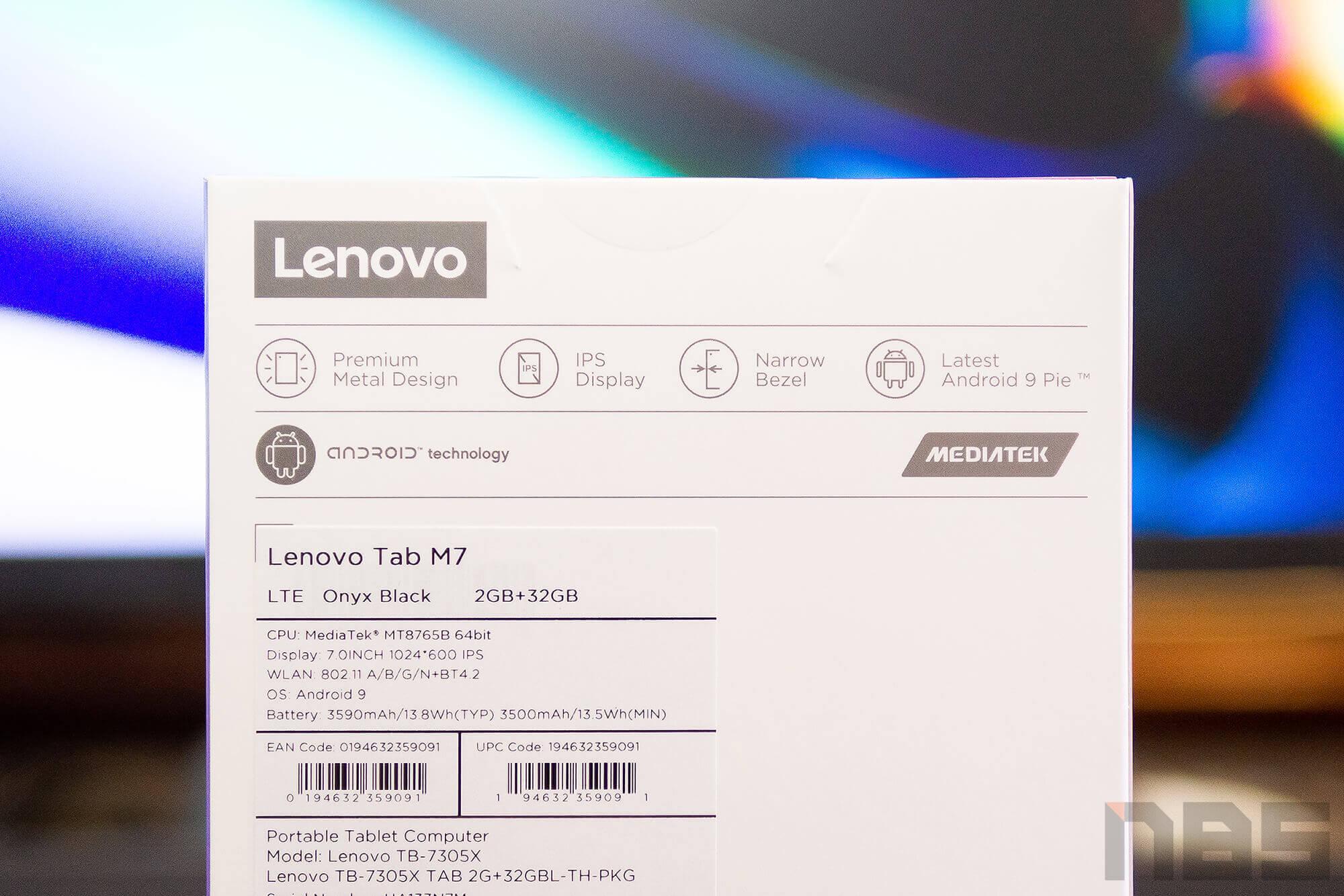Review Lenovo Tab M7 NotebookSPEC 3