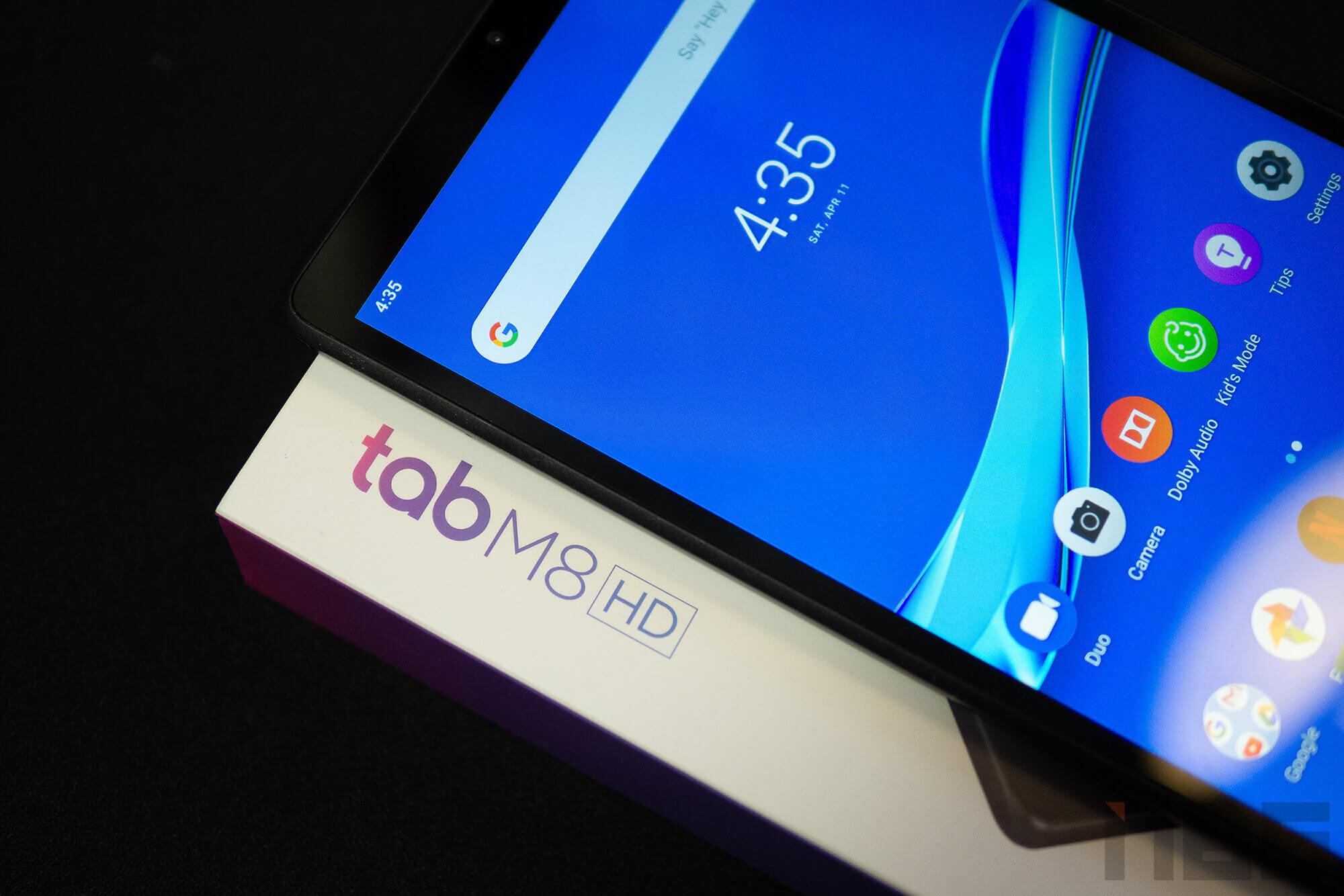 Review Lenovo Tab M8 NotebookSPEC 31