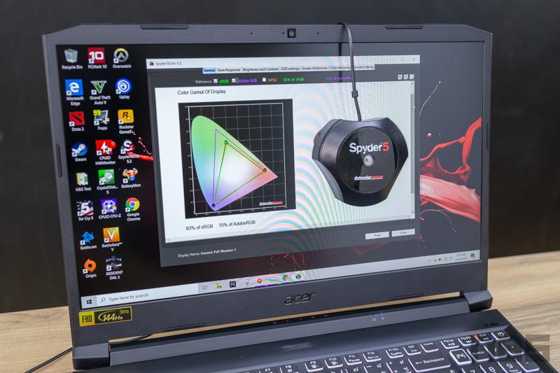 Acer Nitro 5 2020 i5 10300H GTX1650 Ti Review 53