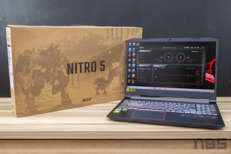 Acer Nitro 5 2020 i5 10300H GTX1650 Ti Review 59