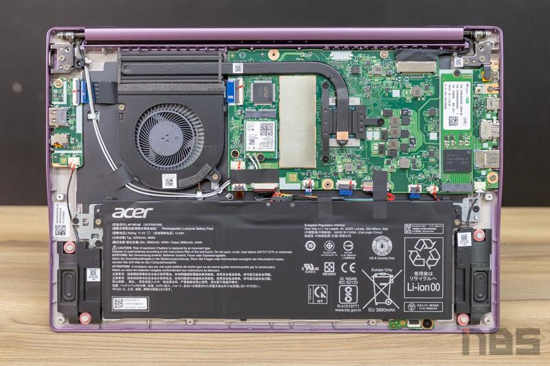 Acer Swift 3 R7 4700U Review 53