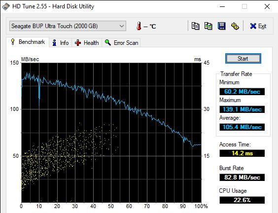 HD Tune 2.55 Hard Disk Utility 5 21 2020 10 56 10 AM