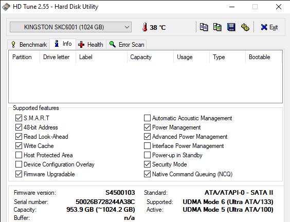 HD Tune 2.55 Hard Disk Utility 5 4 2020 12 24 56 PM