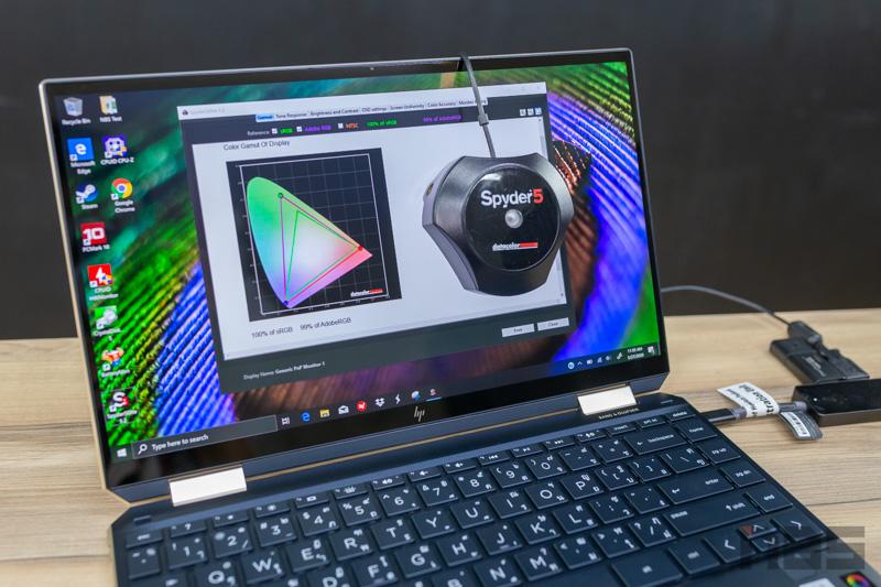 HP Spectre X360 13 i7 Gen 10 Review 45