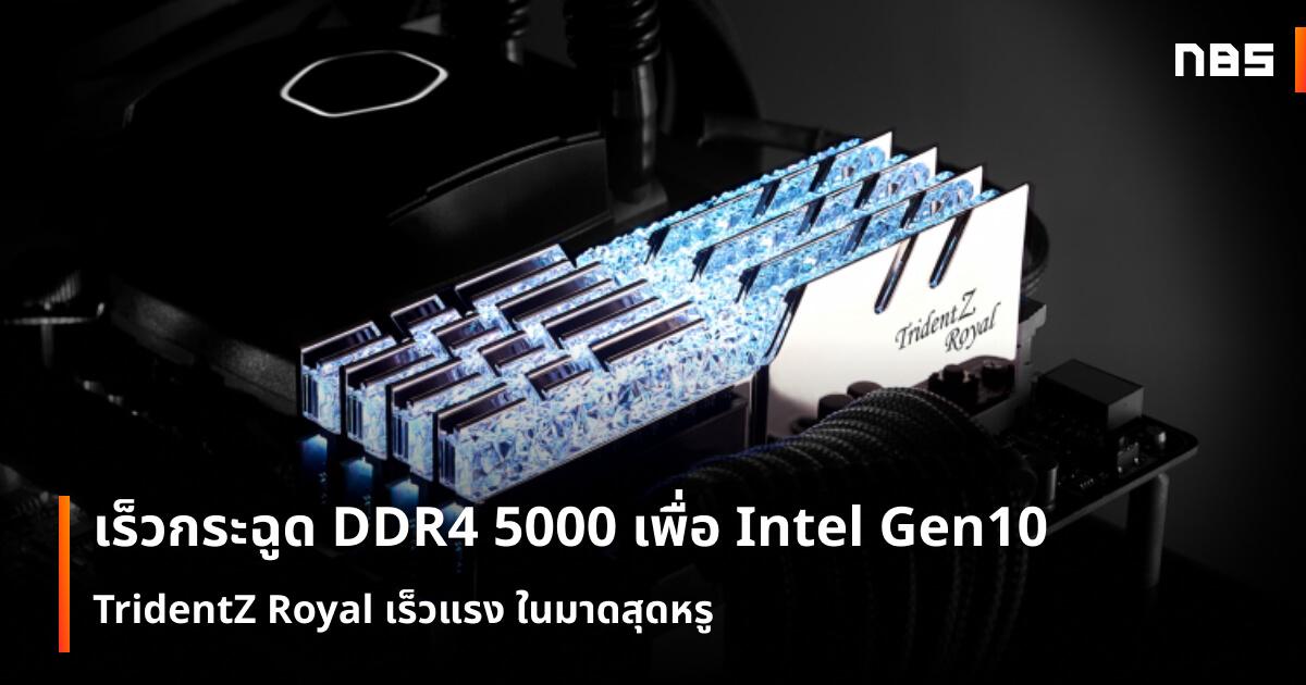 ddr4 5000