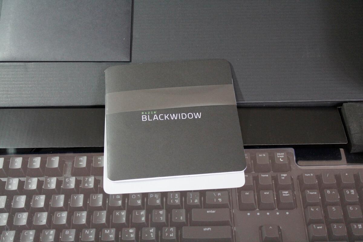 Razer Blackwidow Yellow switch 12