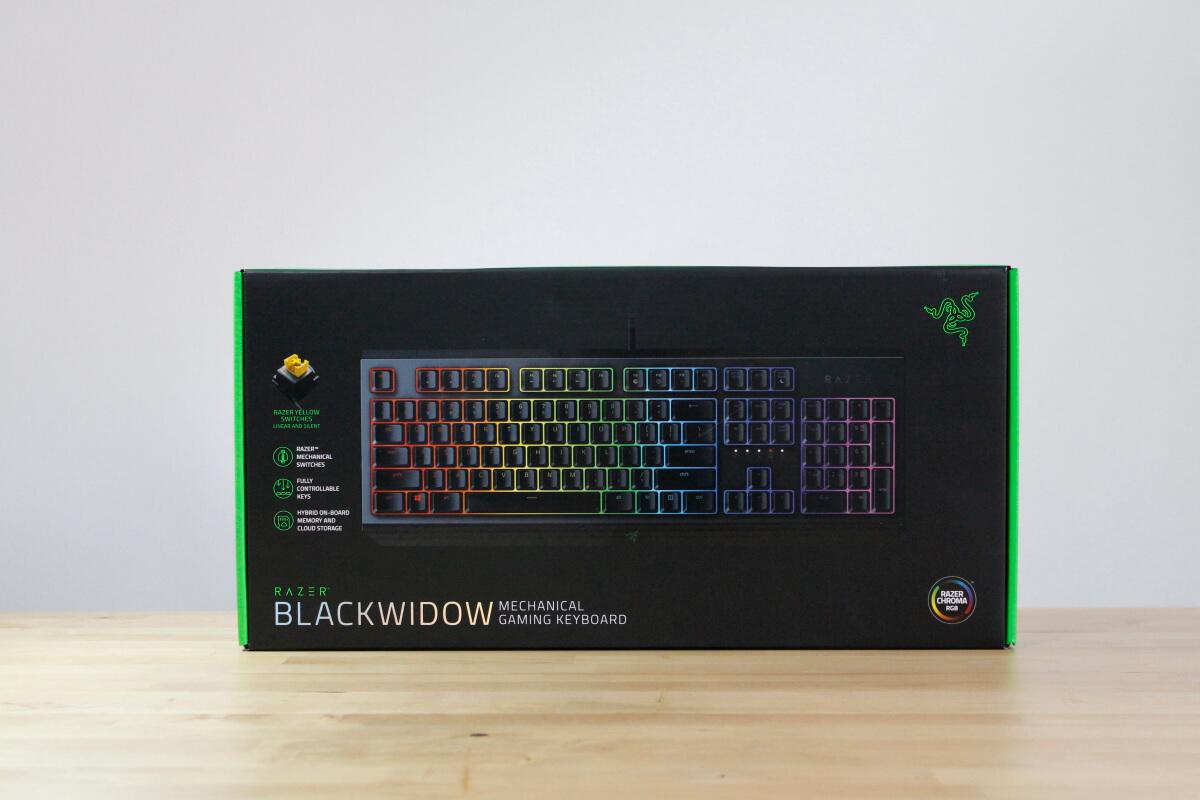 Razer Blackwidow Yellow switch 5
