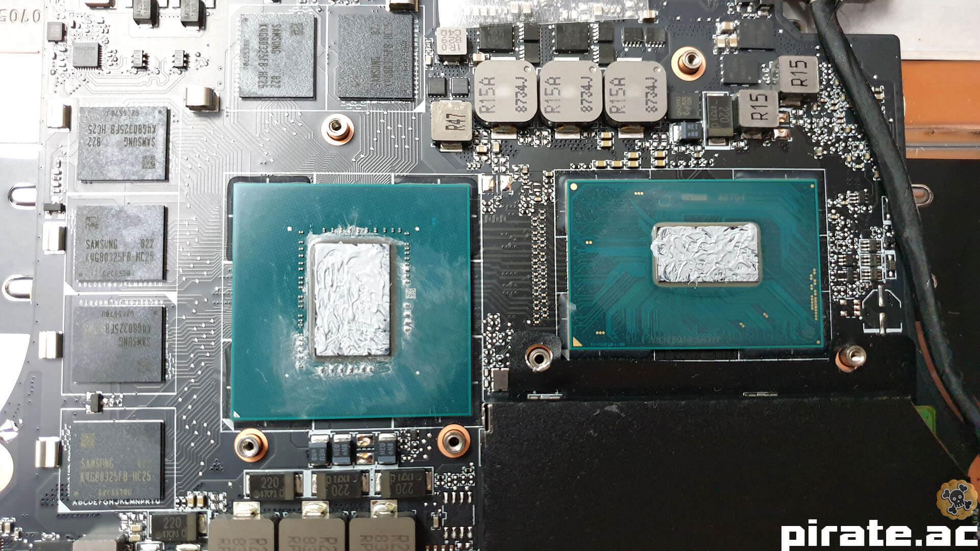 Xiaomi gaming laptop Thermal 8th no14