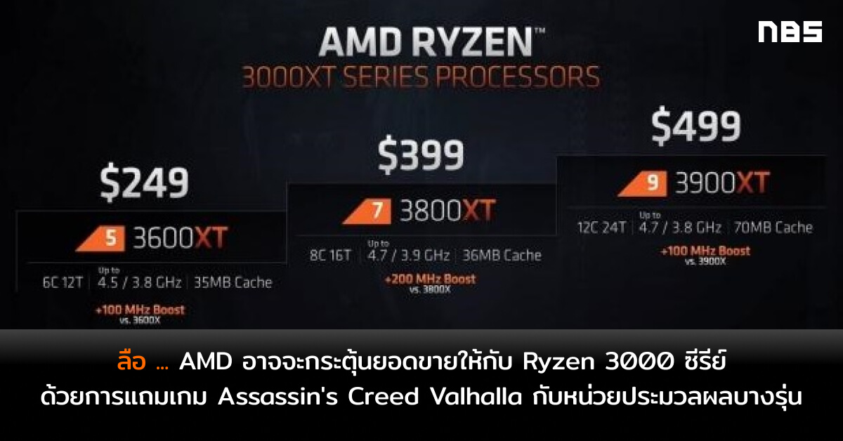 73465 03 amd rumored to bundle assassins creed valhalla with select ryzen cpus