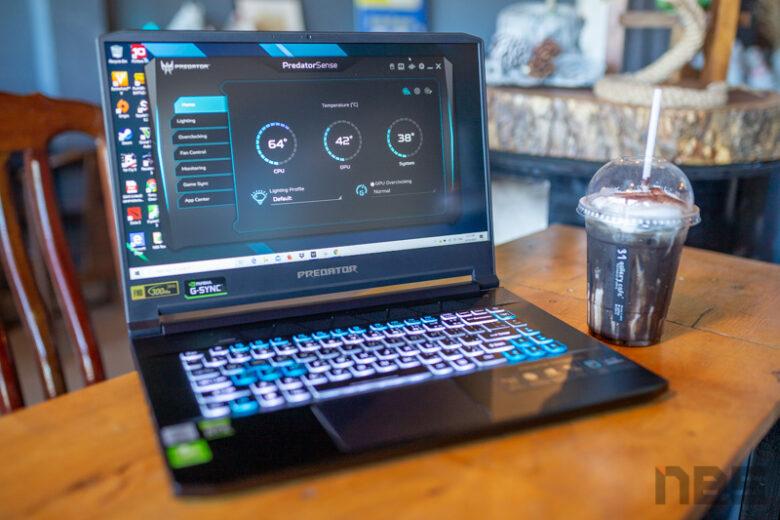 Acer Predator Triton 500 i7 10875 2020 Review 15