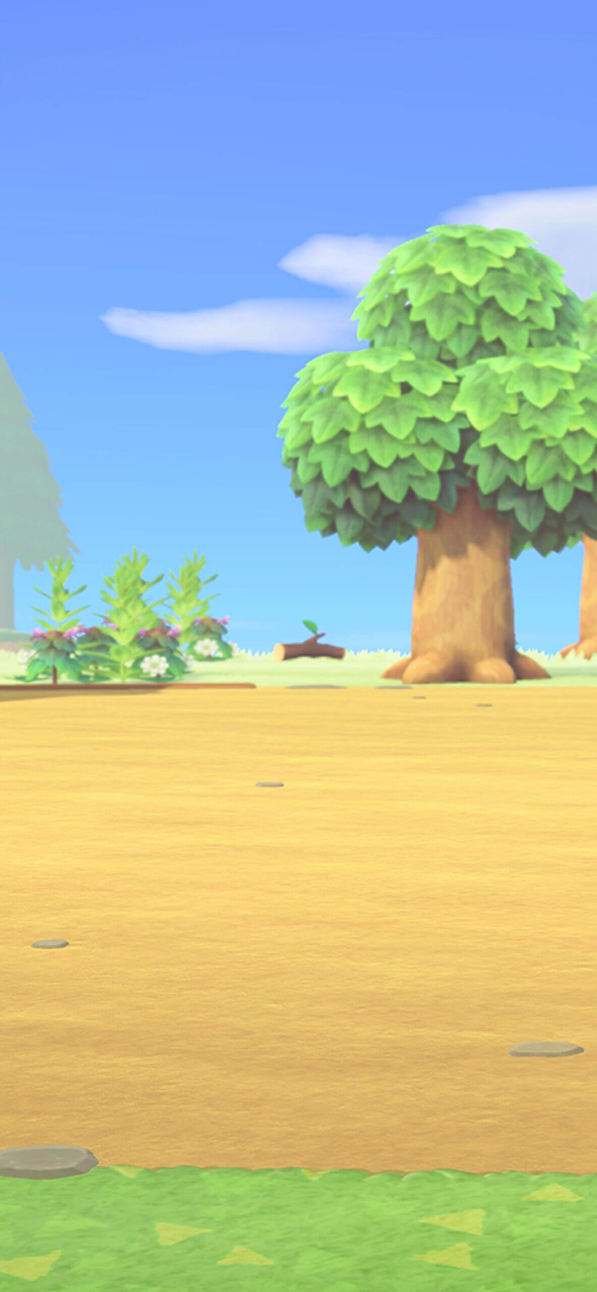 Animal Crossing Nintendo iPhone wallpaper scaled