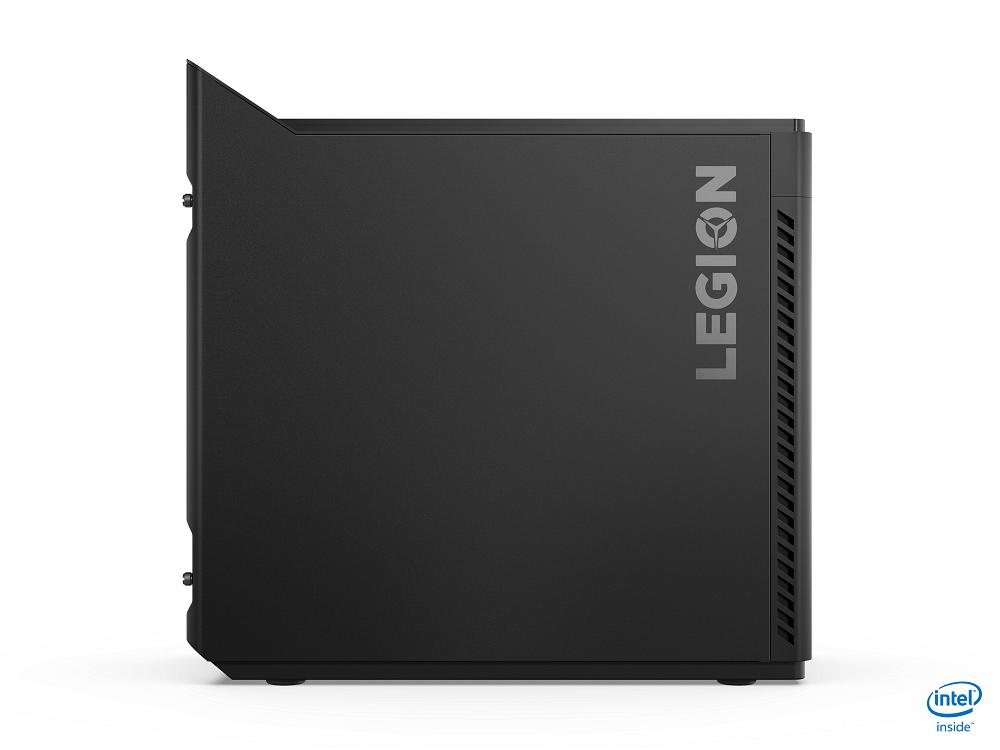 Lenovo Legion Tower 5i Side Profile Intel