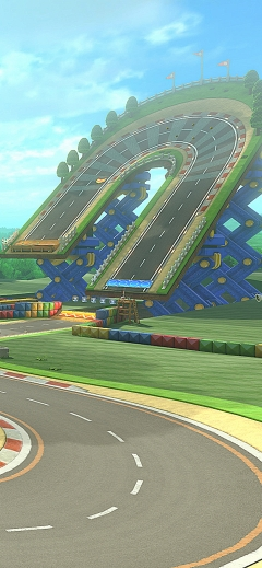 Mario Kart 8 Deluxe Nintendo iPhone wallpaper