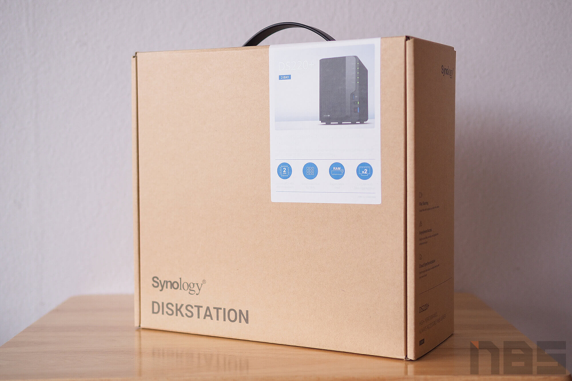 Review Synology DS220 Plus NotebookSPEC 1