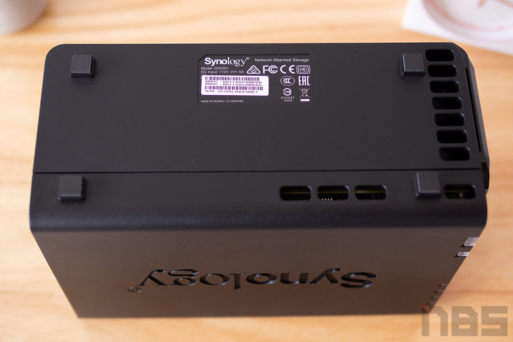 Review Synology DS220 Plus NotebookSPEC 15
