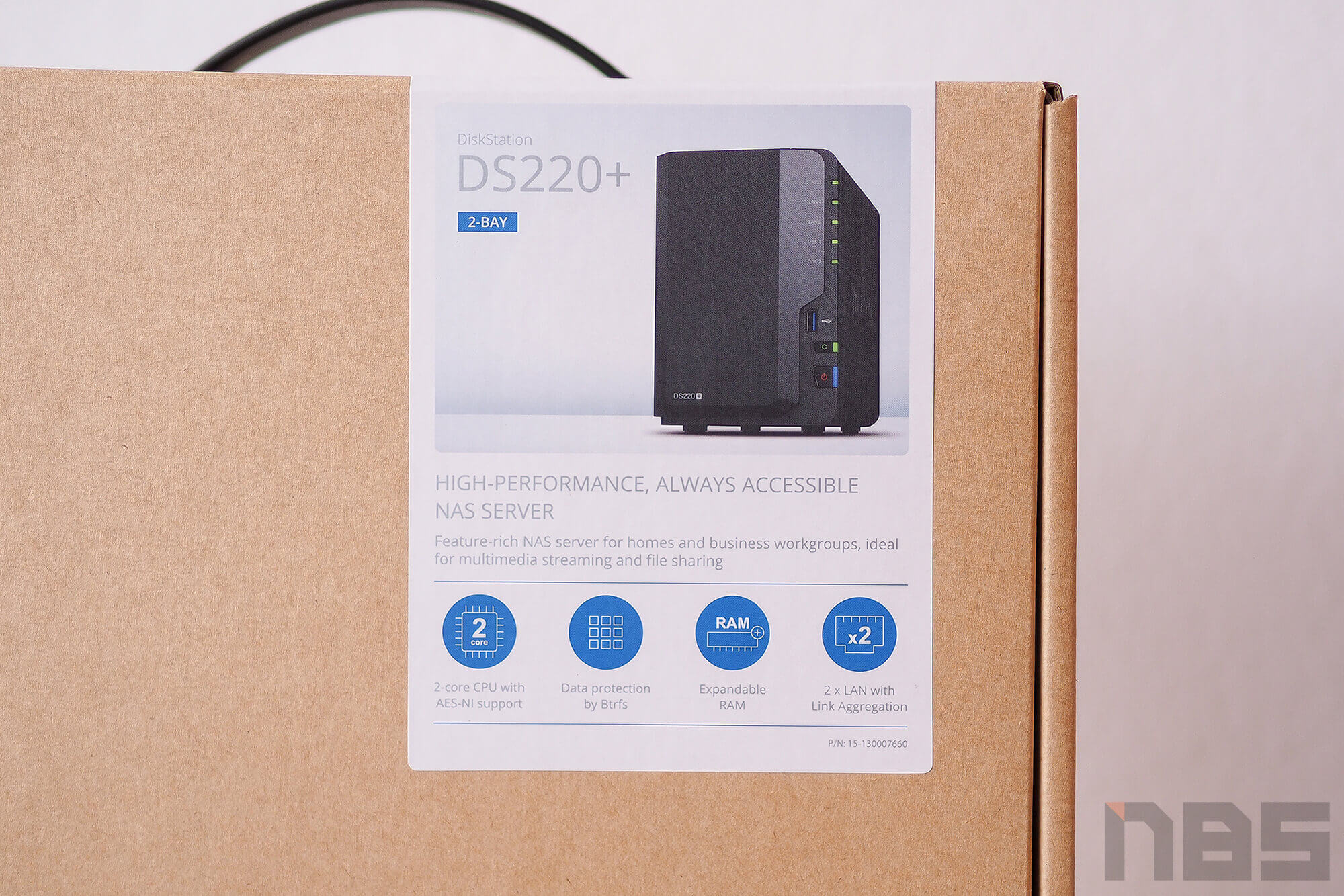 Review Synology DS220 Plus NotebookSPEC 2