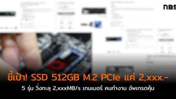 SSD 500GB 2xxx m2 pcie cov