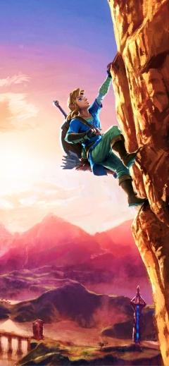 The Legend of Zelda Breath of the Wild 2 Nintendo iPhone wallpaper