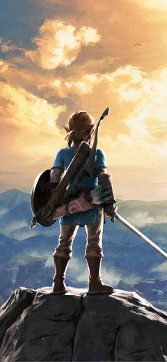 The Legend of Zelda Breath of the Wild 4 Nintendo iPhone wallpaper
