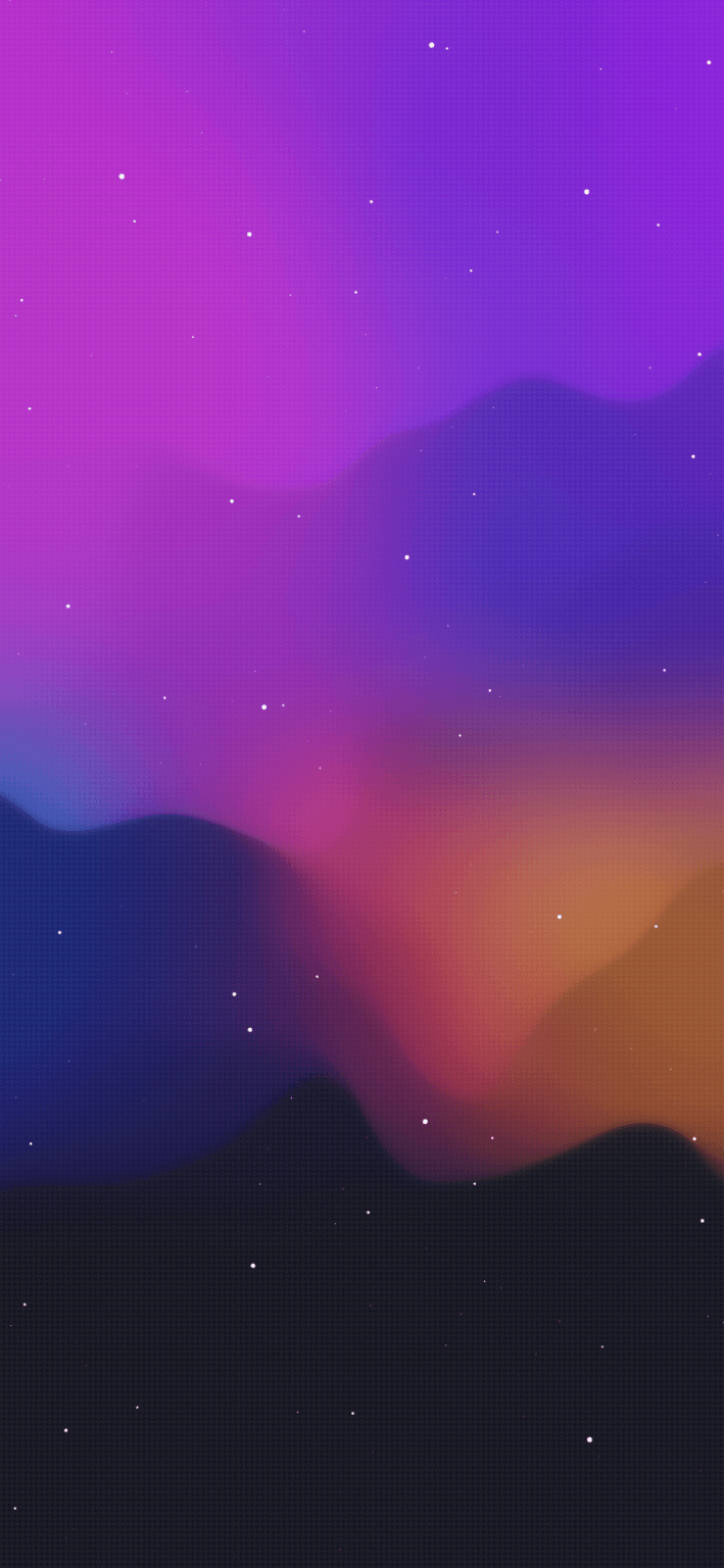 smooth vector iphone idownloadblog wallpaper notforyou666 purple organge galaxy 709x1536 1