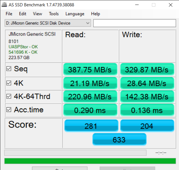 AS SSD Benchmark 1.7.4739.38088 7 13 2020 3 42 28 PM