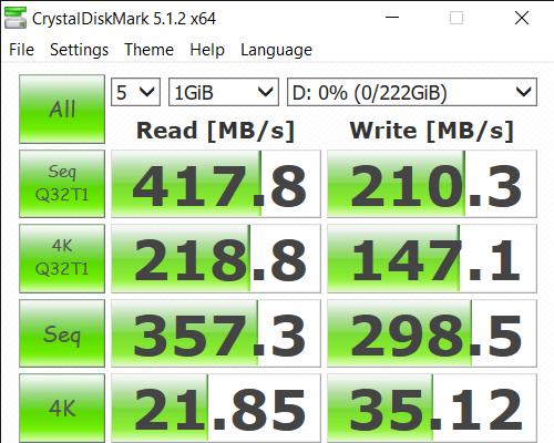CrystalDiskMark 5.1.2 x64 7 13 2020 3 39 50 PM