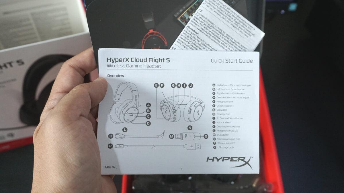 HyperX Cloud Flight S 16
