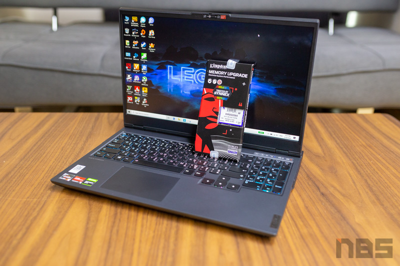 Lenovo Legion 5 Up RAM 16GB 20