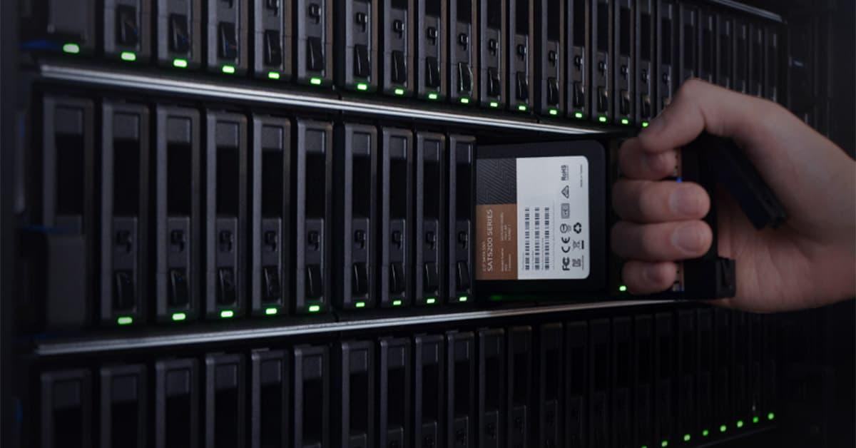 SSD Synology SAT5200 SATA rack