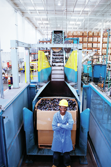 Social Image Recycling Plant